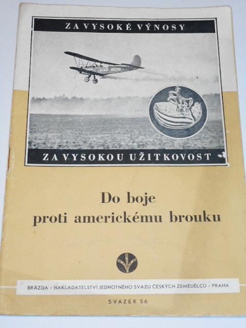 Do boje proti americkému brouku - 1951