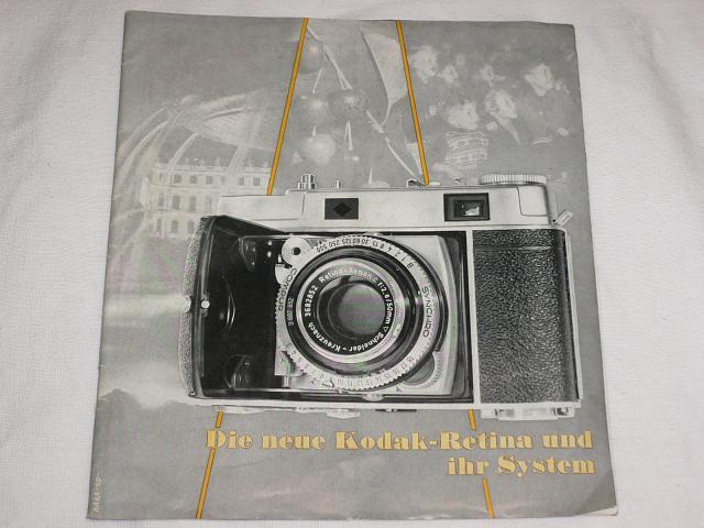 Kodak - Die neue Kodak - Retina und ihr System - prospekt