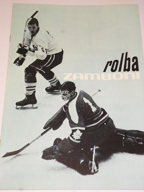 Rolba - Zamboni - prospekt