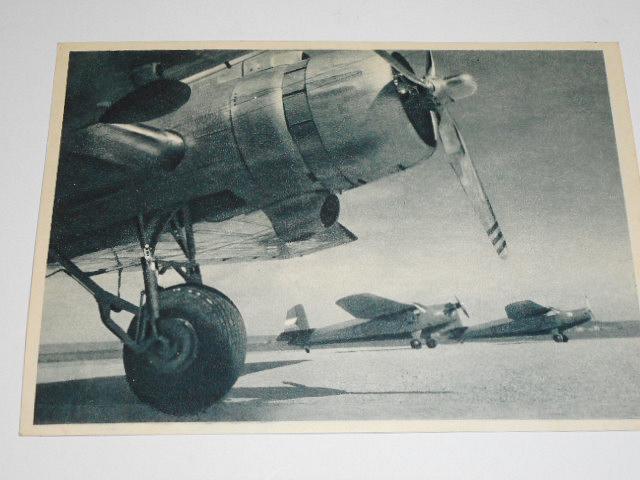 Lietadla Praga E 114 - pohlednice