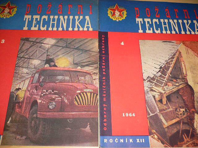 Požární technika - Odborný měsíčník požární techniky - 1964