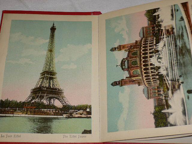 Souvenier de Paris Photographies en Couleurs