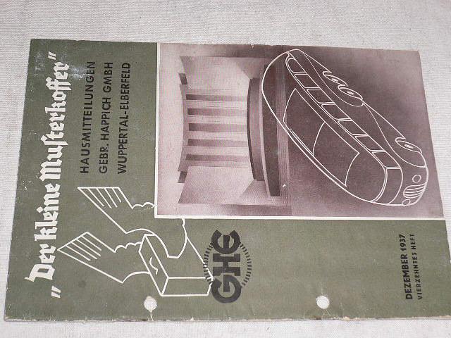 GHE - Der kleine Musterkoffer - dezember 1937
