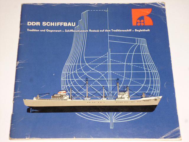 DDR Schiffbau - Tradition und Gegenwart - prospekt - 1971