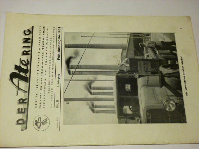 Der Ate Ring - časopis - 1934