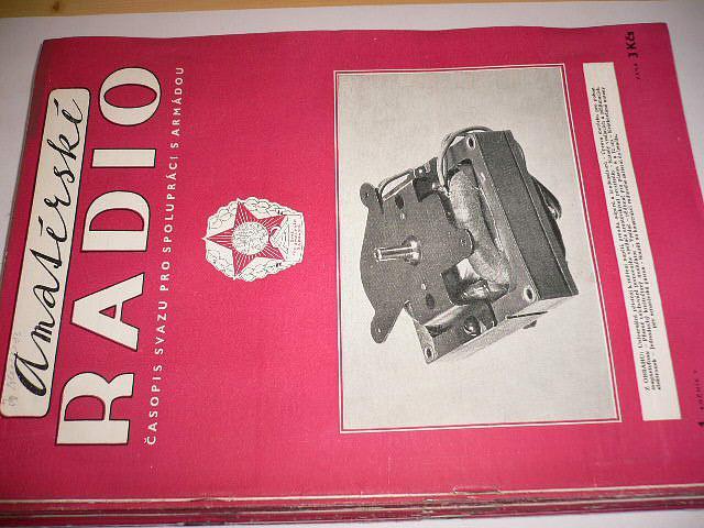 Amatérské radio - časopisy - 1956