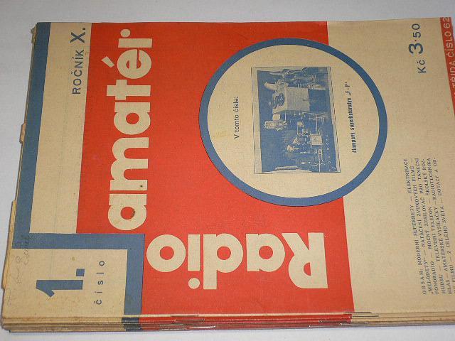 Radioamatér - časopisy - 1931