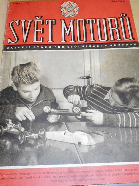 Svět motorů - časopis - 1959 - JAWA, ČZ, Tatra, Škoda...