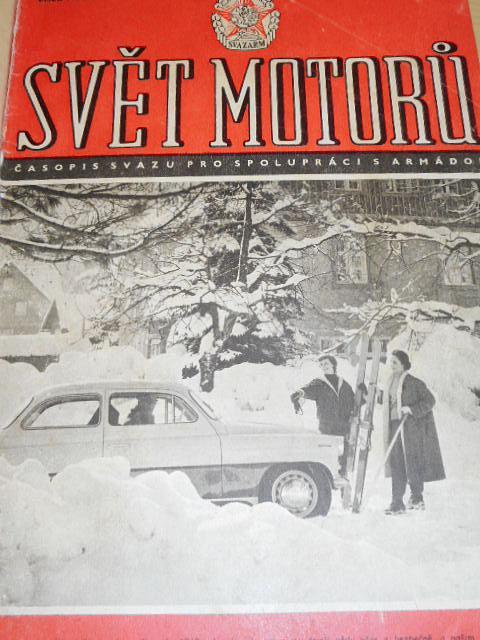 Svět motorů - časopis - 1960 - JAWA, ČZ, Tatra, Škoda...