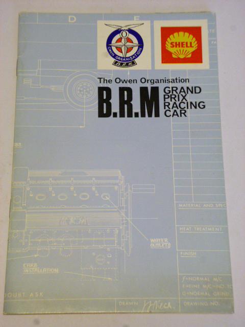 The Owen Organisation B. R. M Grand prix racing car - 1967