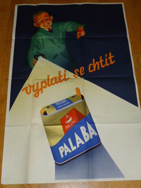 Vyplatí se chtít Palaba - Zdeněk Rykr - plakát - 1936