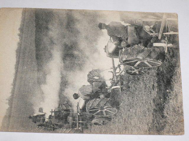 Kolchozy a Sovchozy - cesta k socialismu - orba - pohlednice
