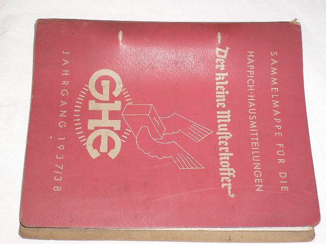 GHE - Der kleine Musterkoffer - 1937