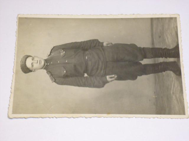 Voják - Rudá armáda - 1946 - fotografie