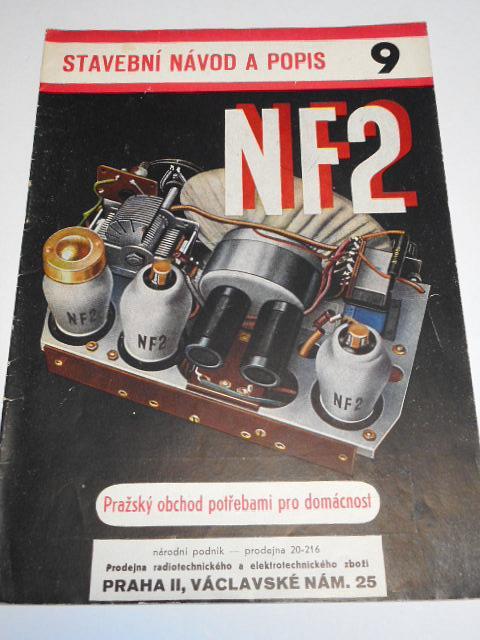 NF 2 - 2-elektronkový universální přijimač - L. Farkaš - stavební návod a popis 9