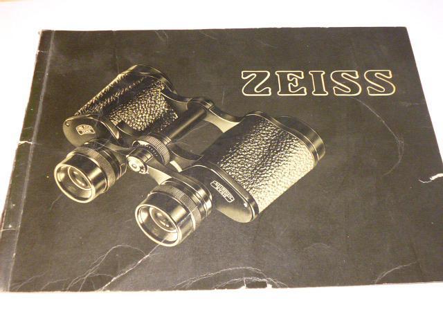 Zeiss - dalekohledy - prospekt