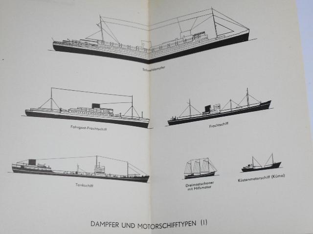 Die Weltmeere - Taschenatlas - 1956