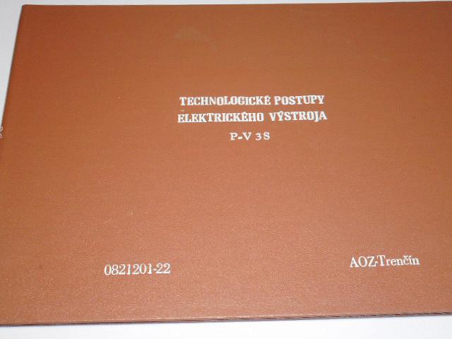 Praga V3S - technologické postupy elektrického výstroja - AOZ Trenčín