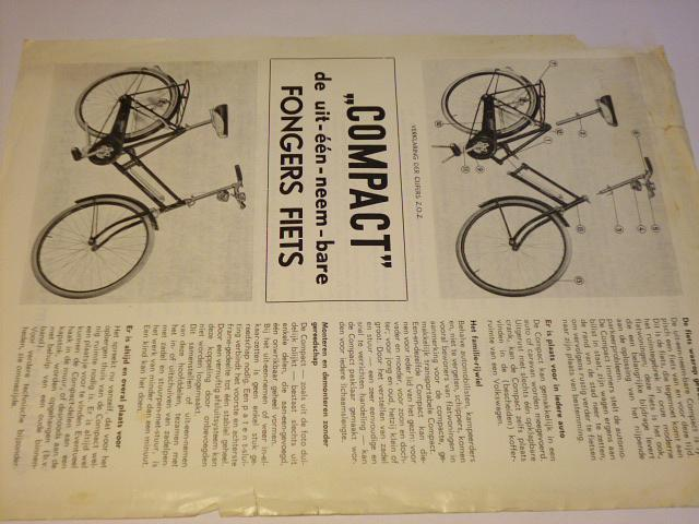 Compact - jízdní kolo - prospekt