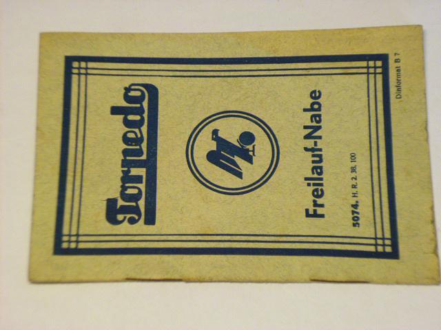 Torpedo - Freilauf-Nabe - 1938 - Fichtel a Sachs