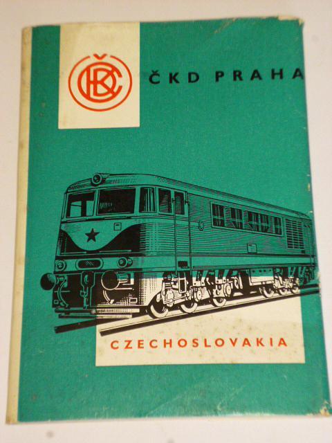 ČKD Praha - soubor 12 fotografií - pohlednic - 1960