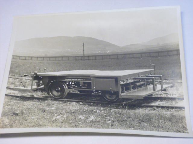 Tatra - nákladní drezína T 14/30 - fotografie