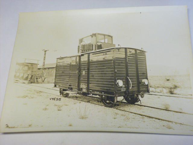 Tatra - novinářská motorová drezína T 35 - fotografie