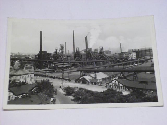 Moravská Ostrava, Vítkovické železárny - vysoké pece