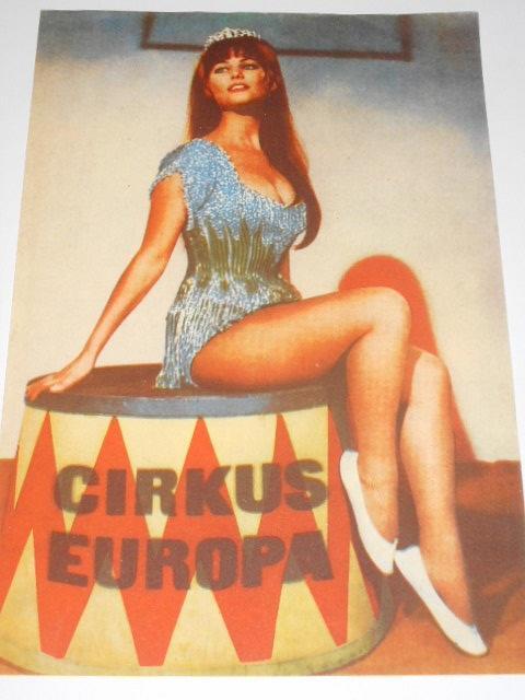 Cirkus Evropa - leták - závazná objednávka na představení