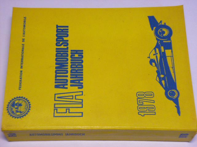 FIA - Automobilsport Jahrbuch 1978