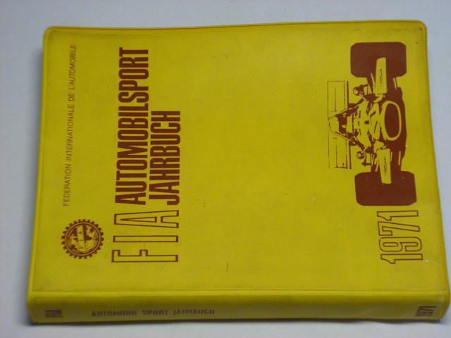 FIA - Automobilsport Jahrbuch 1971