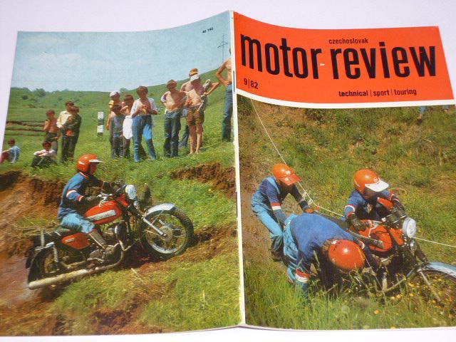 Czechoslovak Motor Review - 1982 - JAWA, Tatra, Škoda