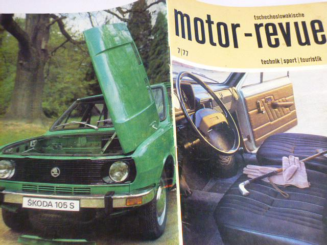 Tschechoslowakische Motor - Revue - 1977 - JAWA, Škoda