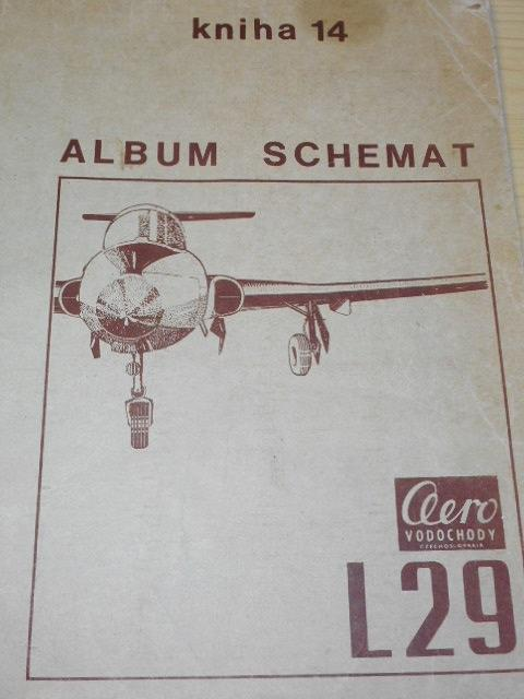 Aero L 29 - album schemat - kniha 14 - 1969
