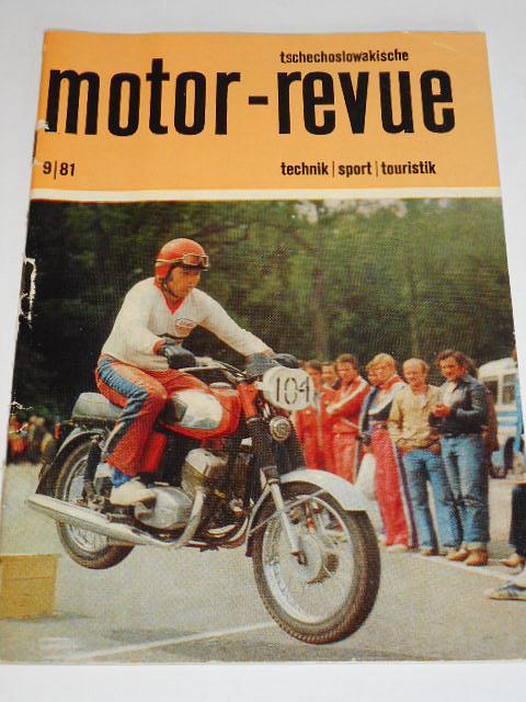 Tschechoslowakische Motor - Revue - 1981 - Škoda, JAWA, Tatra
