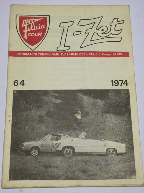 Klub Felicia coupé - I-Zet - informační zprávy - časopisy