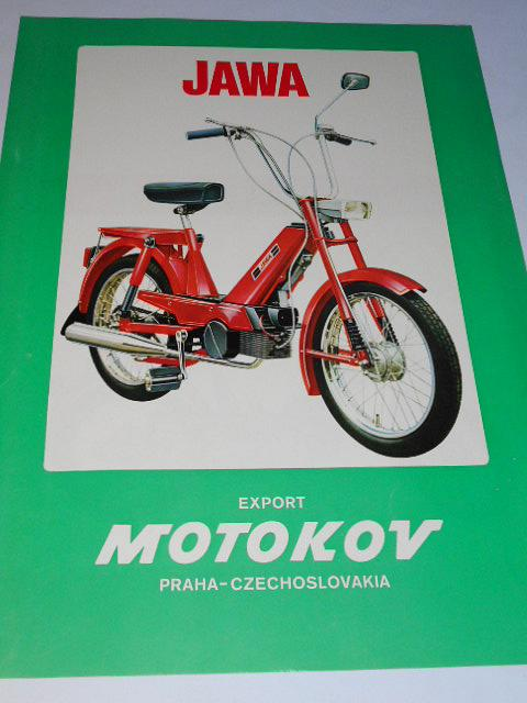 JAWA 207/300 - moped - Babetta - prospekt - Motokov
