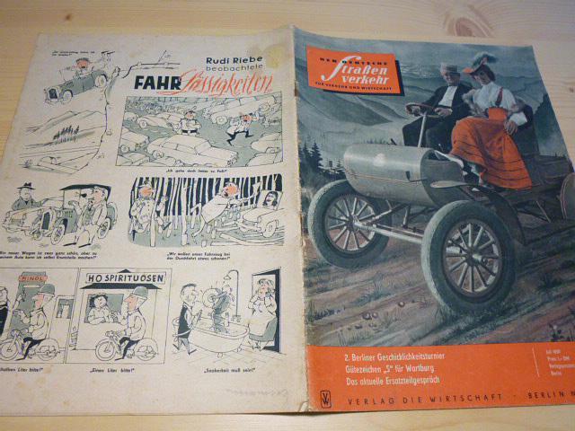 Der Deutsche Strassen verkehr - 7/1959 - časopis NDR - DDR