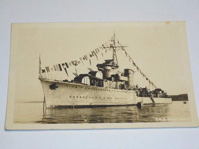 O.R.P. Blyskawica - pohlednice