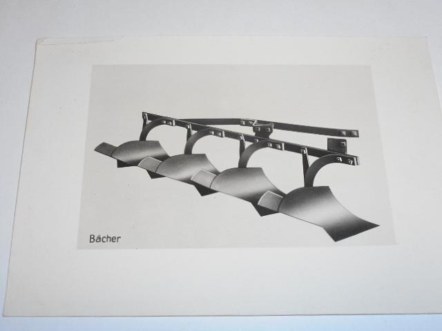 Závody Ringhoffer Tatra a. s. - Závod Bächer Roudnice n. L. - fotografie - pluhy - 1941