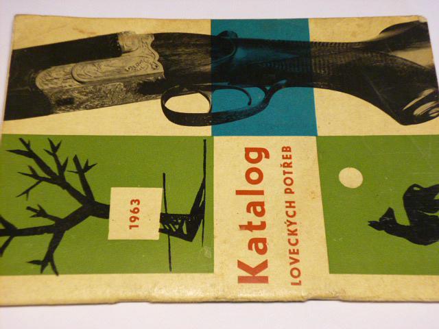 Katalog loveckých potřeb - 1963