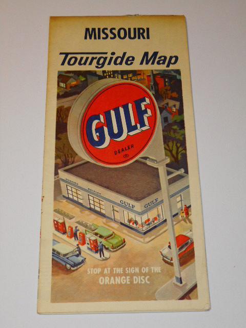Missouri Tourgide Map - Gulf - mapa
