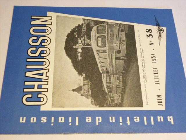 Chausson - Bulletin de liaison - časopis - 1957