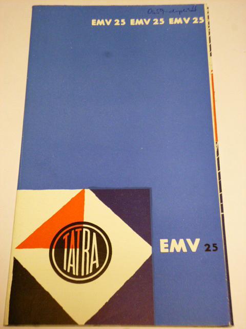 Čs. Vagonky Tatra - Studénka - EMW 25 - prospekt - 1966