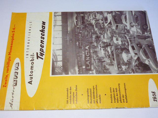 Austro Motor Internationale Automobil Typenschau - 1958