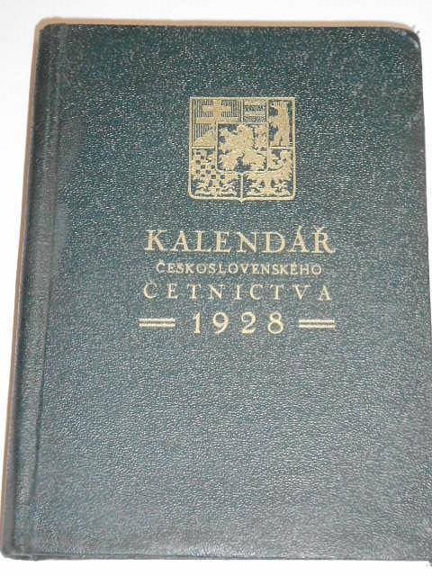 Kalendář československého četnictva 1928