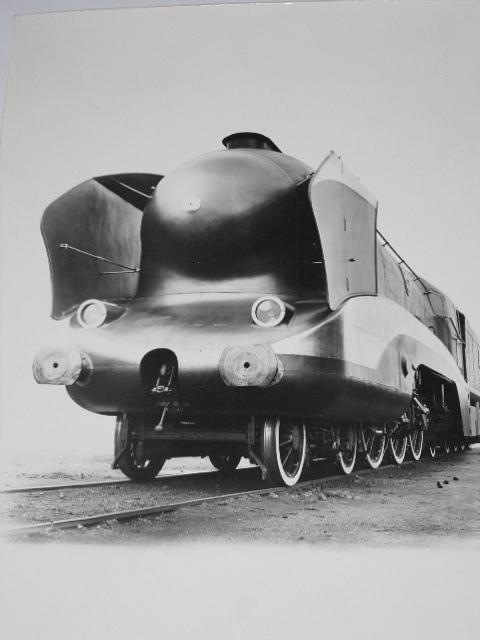 S. N. C. F - parní lokomotiva - fotografie