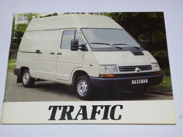 Renault Trafic - návod k obsluze - 1994