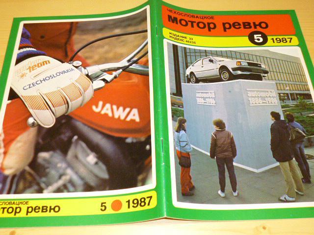 Československá motor revue - 1987 -  Tatra, Škoda, Jawa...