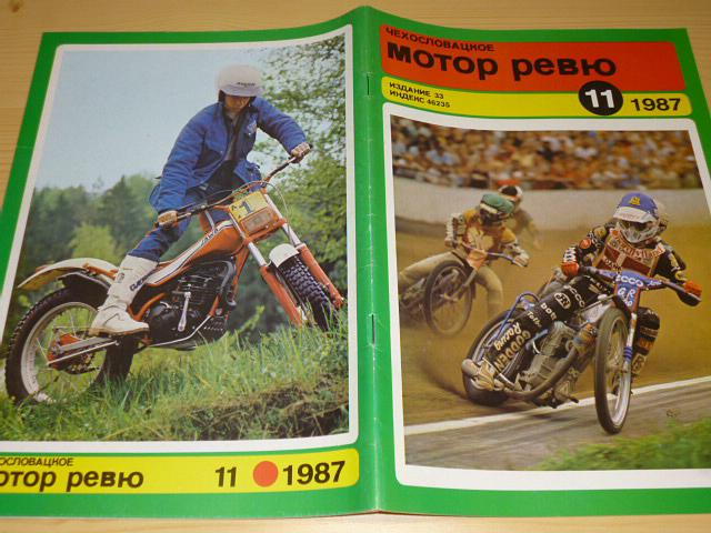 Československá motor revue - 1987 - Tatra, Škoda, Jawa, Liaz